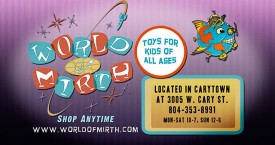 World of Mirth Toy Store- TV Spot